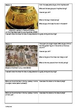 Greek and Roman Art: Piety