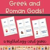 Greek Mythology 6th Grade, 7th Grade, 8th Grade Card Game