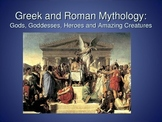 Greek and Roman Mythology: Gods, Goddesses, Heroes and Amazing Creatures