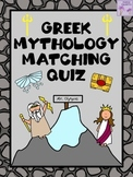 Greek Mythology Quiz (Matching)