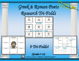 Greek and Roman Poets Research Tri-Folds
