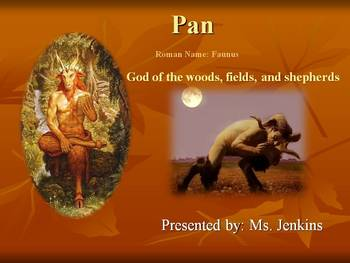 Greek god and goddess research project