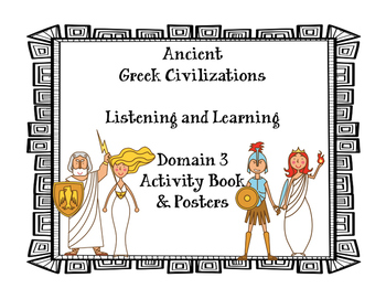 Greek gods and goddesses Activity Book and Posters