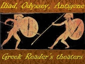 Greek reader's theater (Iliad, Antigone, Odyssey)
