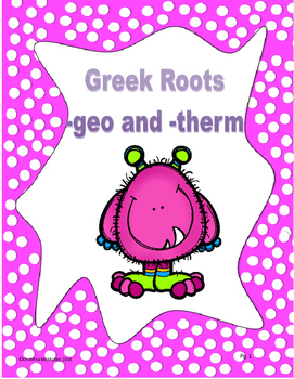 Greek roots geo and therm