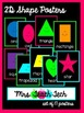Greek/Latin Roots Shape Posters [Black Series]