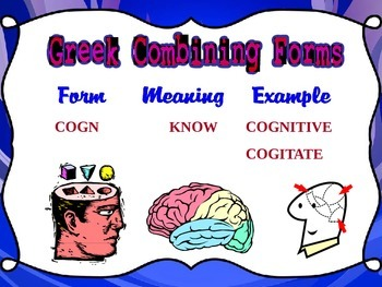 Greek/Latin Roots Suffixes/Prefixes with examples