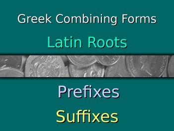Greek/Latin Roots with examples