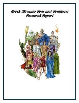 Greek/Roman god/goddess Research Report