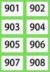 Green 1-1000 Flash Card Mega Value Bundle