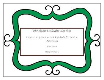 Green Above Level Wonders Leveled Readers Worksheets