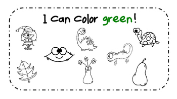Green Activity Book!