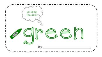 Green Activity Book!