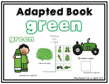 Green Adapted Book