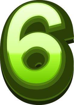 Green Alphabet Line