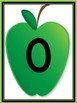 Green Apple Full Page Number Posters 0-100