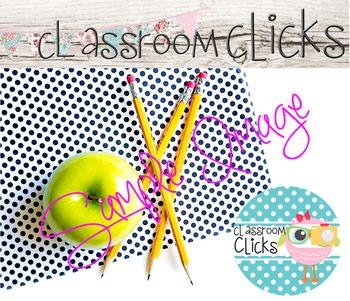Green Apple Polka Dots Image_158: Hi Res Images for Bloggers & Teacherpreneurs