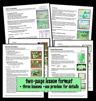 St. Patrick's Day Green Art Lessons