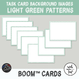 Green Backgrounds for digital task cards - Boom Cards™