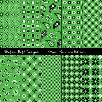 Bandana Patterns: Green