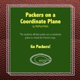 Green Bay Packers Logo on the Coordinate Plane