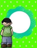 Green Binder Cover {Freebie}