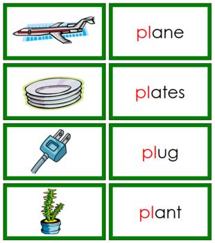 Green: Blends and Digraphs - Set #1