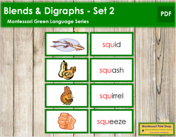 Green: Blends and Digraphs - Set #2