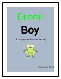 Green Boy: A Complete Novel Study