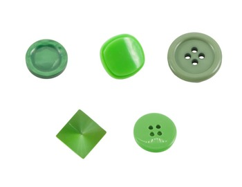 Buttons Green Real Photo Clipart