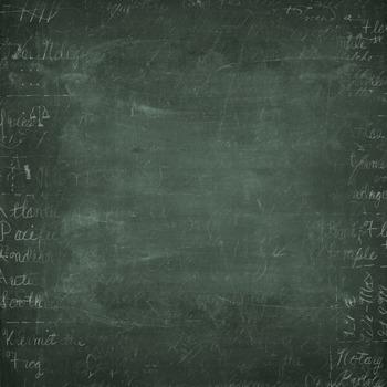 Green Chalkboard Patterns Digital Paper Backgrounds