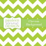 Lime Green Chevron Background