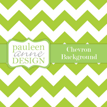 Lime Green Chevron Background