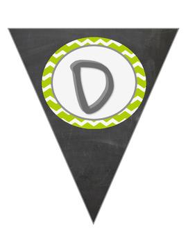 Green Chevron Daily 5 Banner