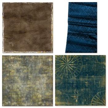 Glow Digital Papers, Yellow Digital Backgrounds, Bokeh Pattern, Sun Burst