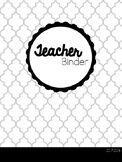 2017- 2018 Teacher Binder