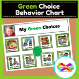 Green Choices Behavior Chart for Autism Special Education