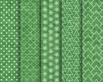 Green Christmas Texture, Digital Papers, Green Christmas Paper Set #139