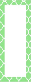 Green Classroom Theme