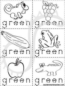 Green Color Book