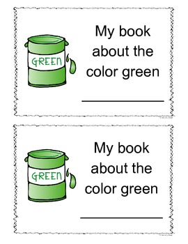Green Color Book