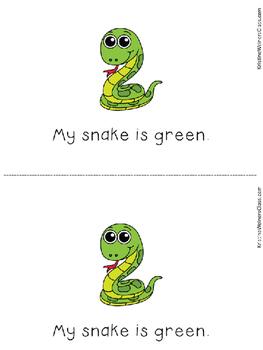 Green Color Song {A Mini-Unit}