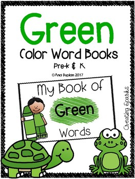 Green Color Word