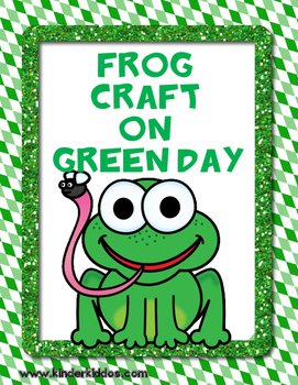 Green Day Frog Craft