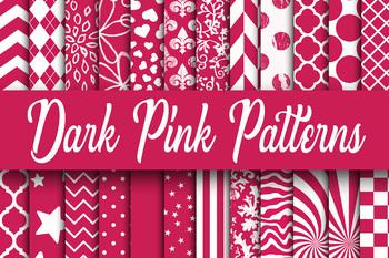 Colorful Patterns Digital Paper Bundle - Includes 480 Papers - 12 x 12