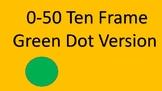 Green Dot 0-50 Ten Frames