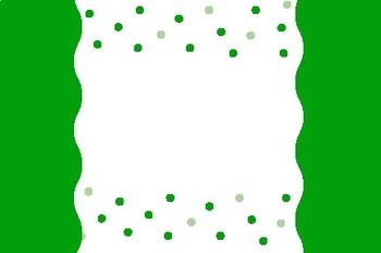 Green Dot Blank Editable Labels Flashcards