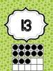 Green Dot Classroom 1-30 Ten Frames