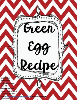 Green Egg Dr. Seuss Recipe
