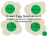 Green Eggs Addition to 5